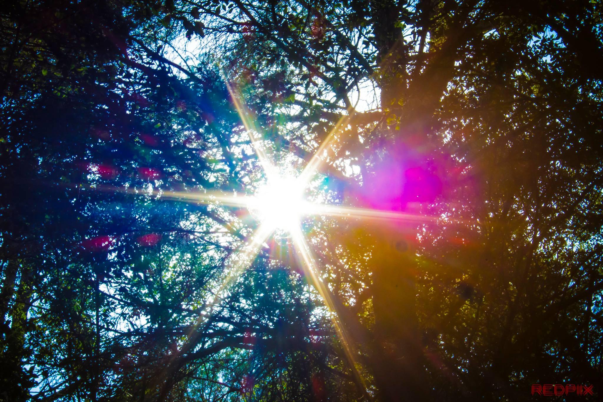 Sonne Licht und Farben